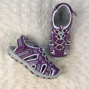 Khombu 13M Sport Sandals Purple Gray Waterpark